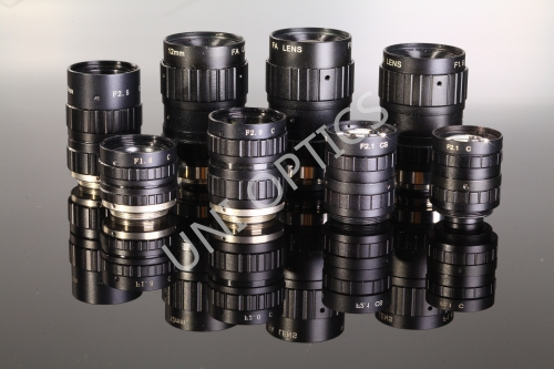 UNI standard series of 3.0&5.0 Mega-pixel machine vision lenses: