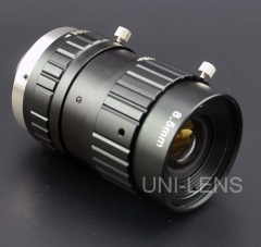 C-Mount Lens For Machine Vision and ITS (UNC-M08516FAT)